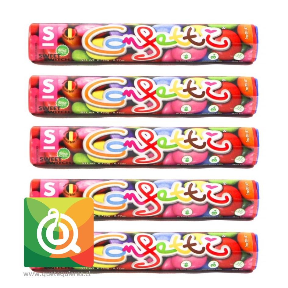 Sweet Switch Caramelos de Chocolate - Confetti 5 unidades
