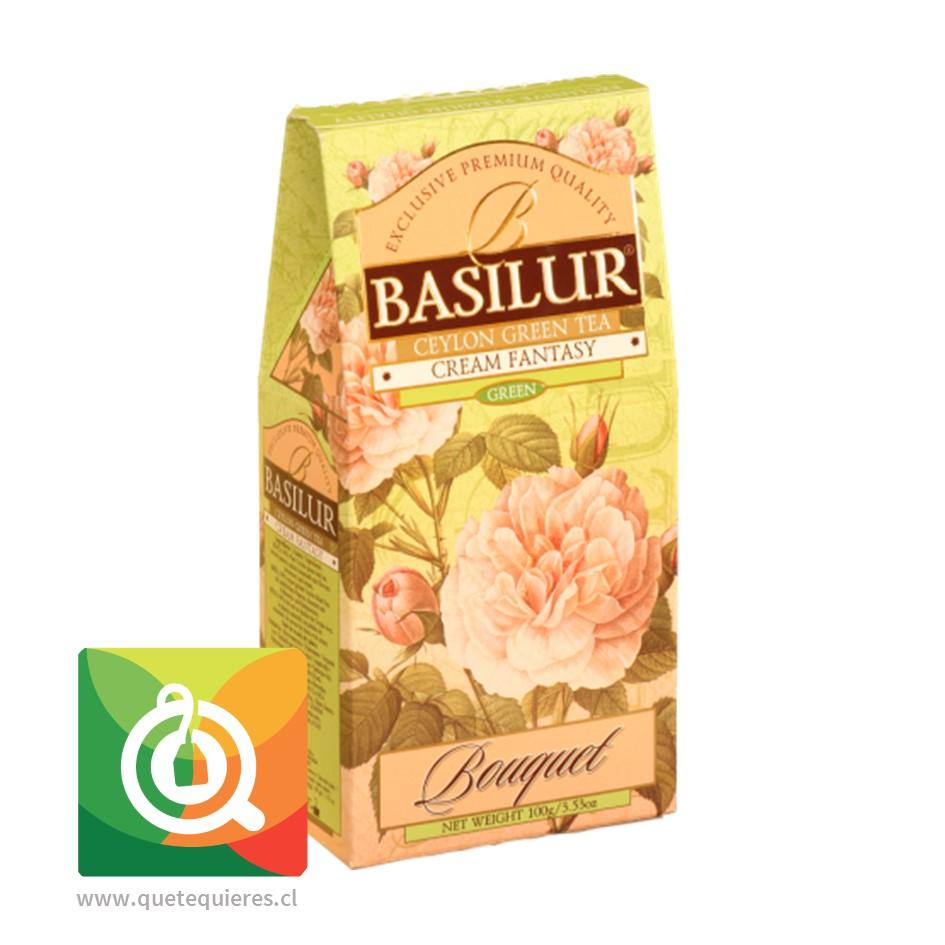 Basilur Té Verde Fantasía Crema 100 gr