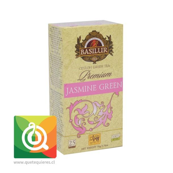 Basilur Té Verde Jazmín Premium