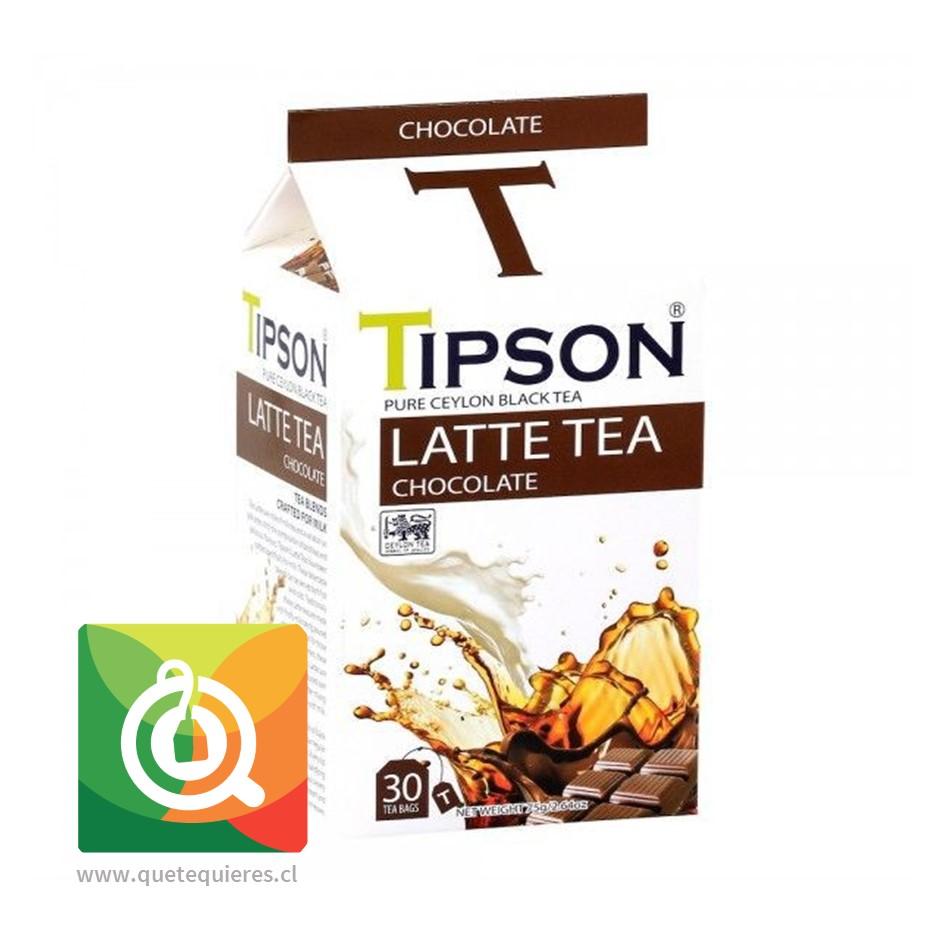 Tipson Té Negro Latte Chocolate
