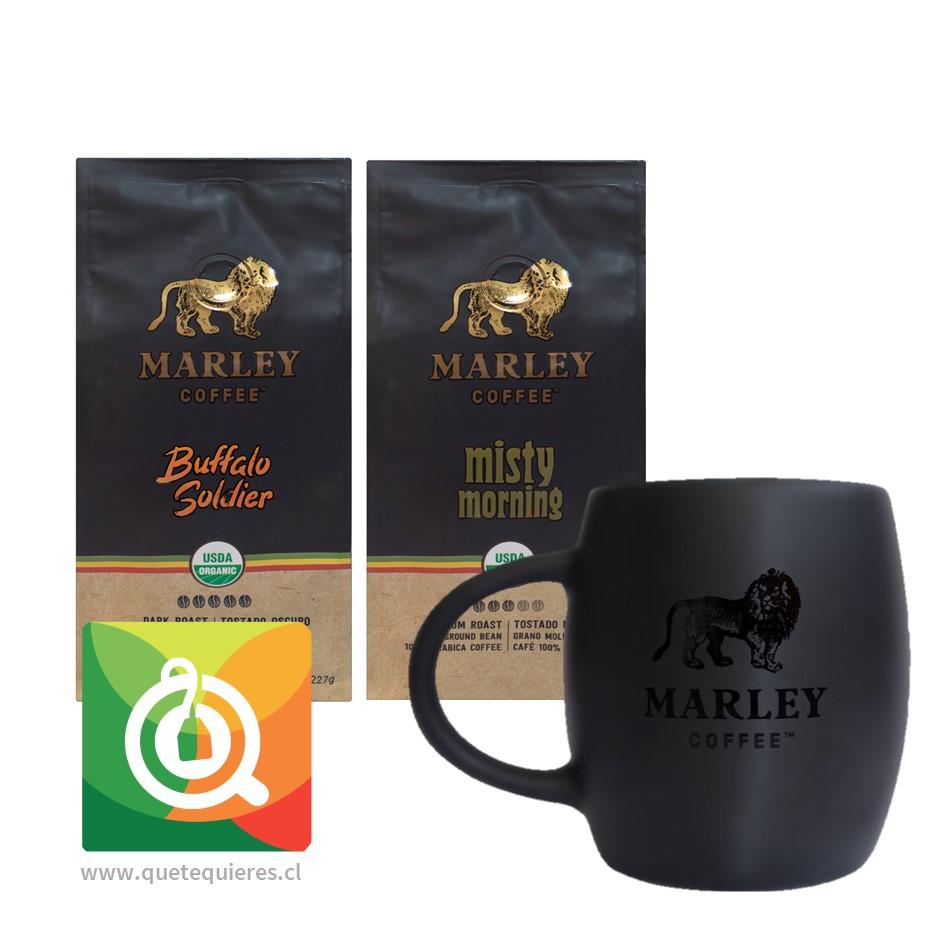 Pack Marley Coffee Tazón + Cafés Buffalo soldier - Mystic Morning