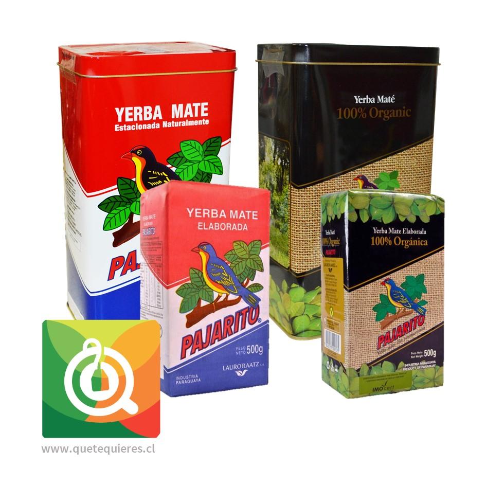 Pack Pajarito Yerberas + Yerba Mate Tradicional y Orgánica