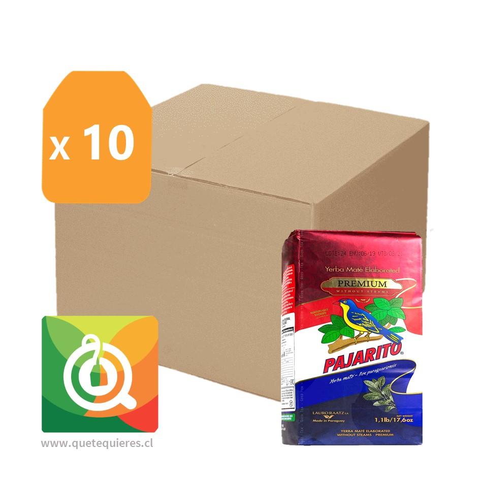 Pack Pajarito 10 Yerba Mate Premium