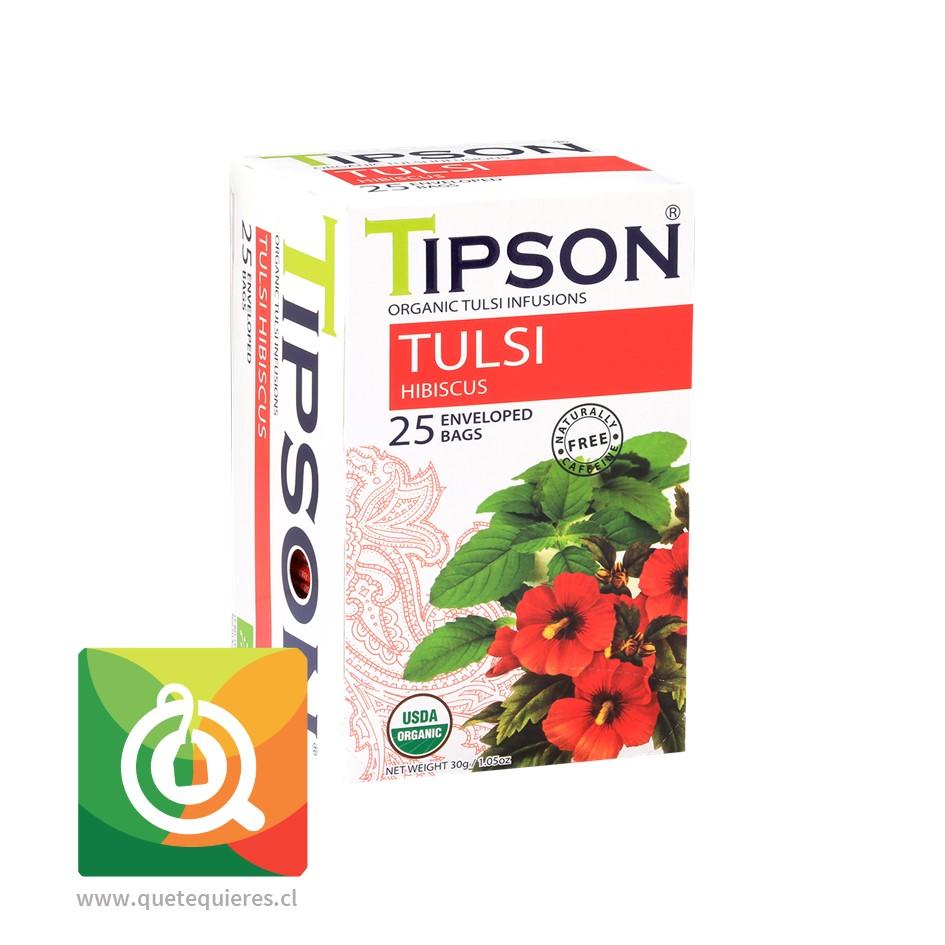 Tipson Infusión Tulsi con Hibiscus