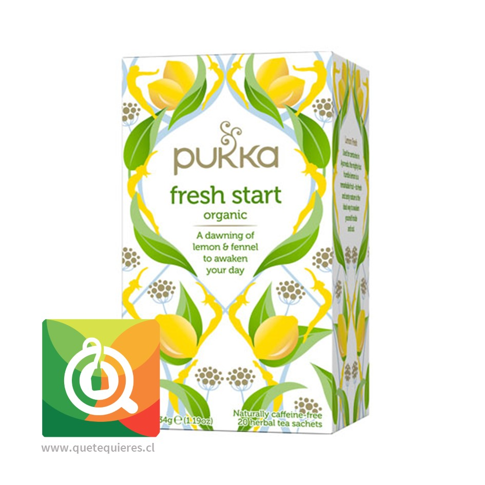 Pukka Infusión Fresh Start