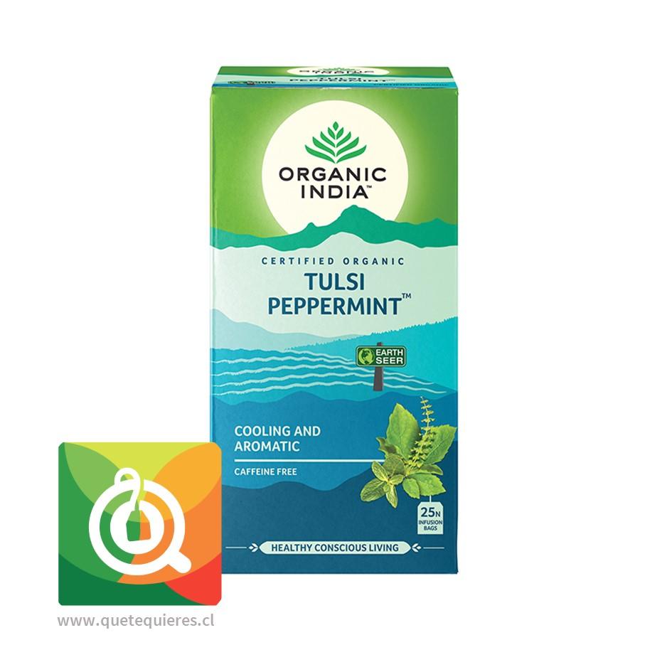 Organic India Infusión Tulsi Menta