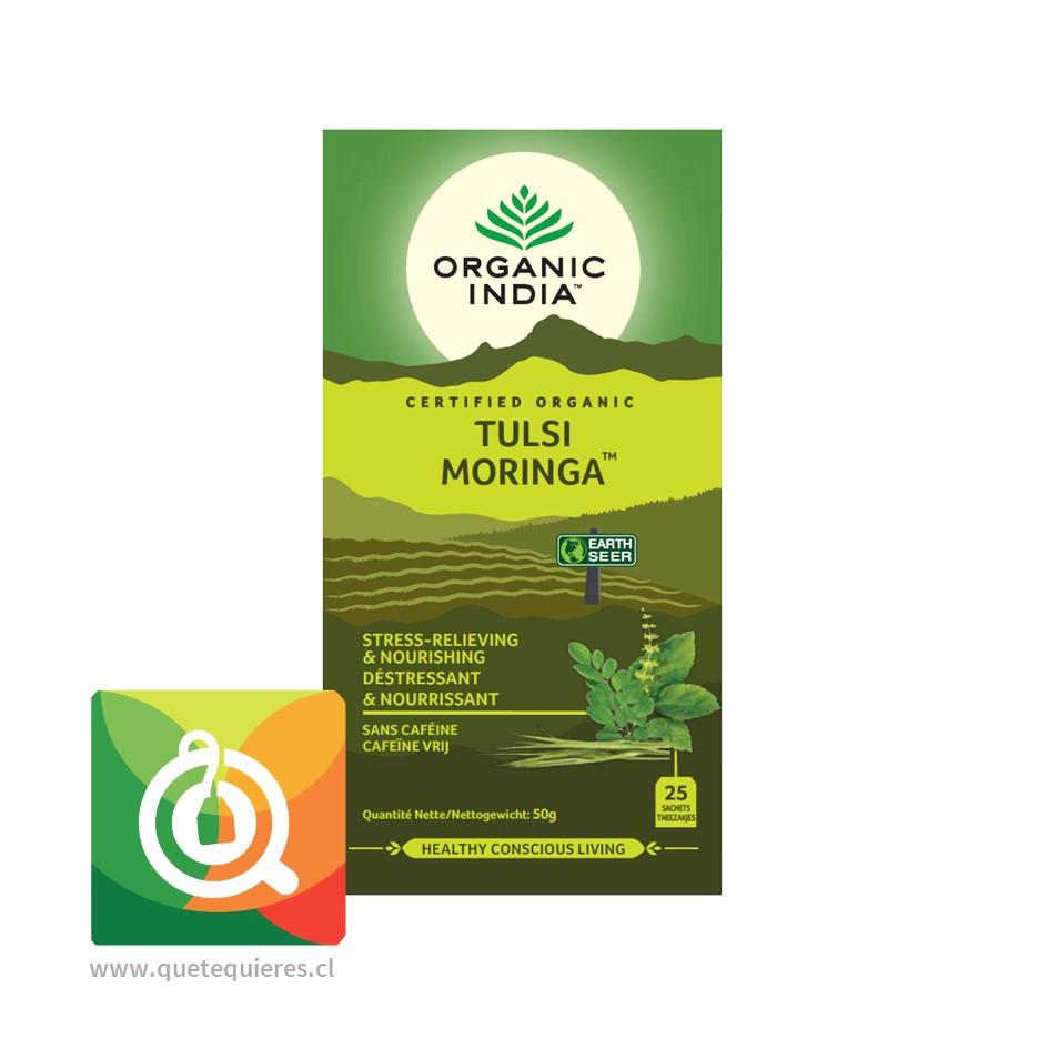 Organic India Infusión Tulsi Moringa