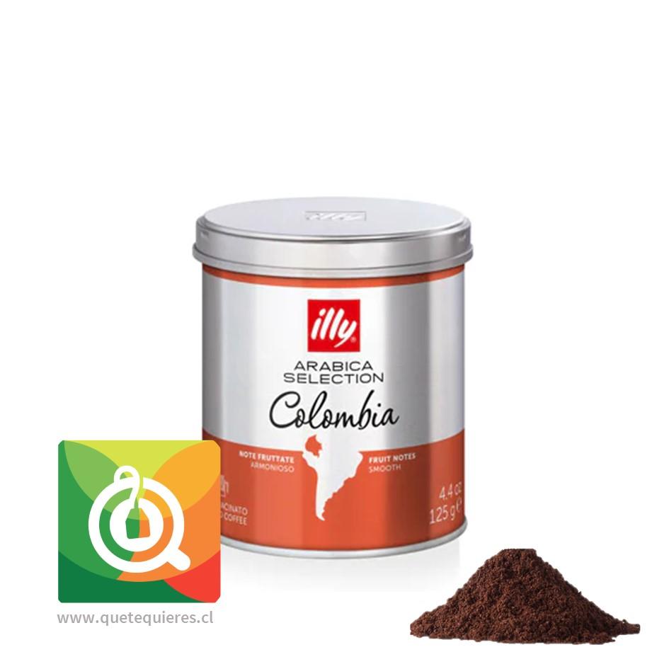 Illy Café Monoarabico Molido Colombia Lata