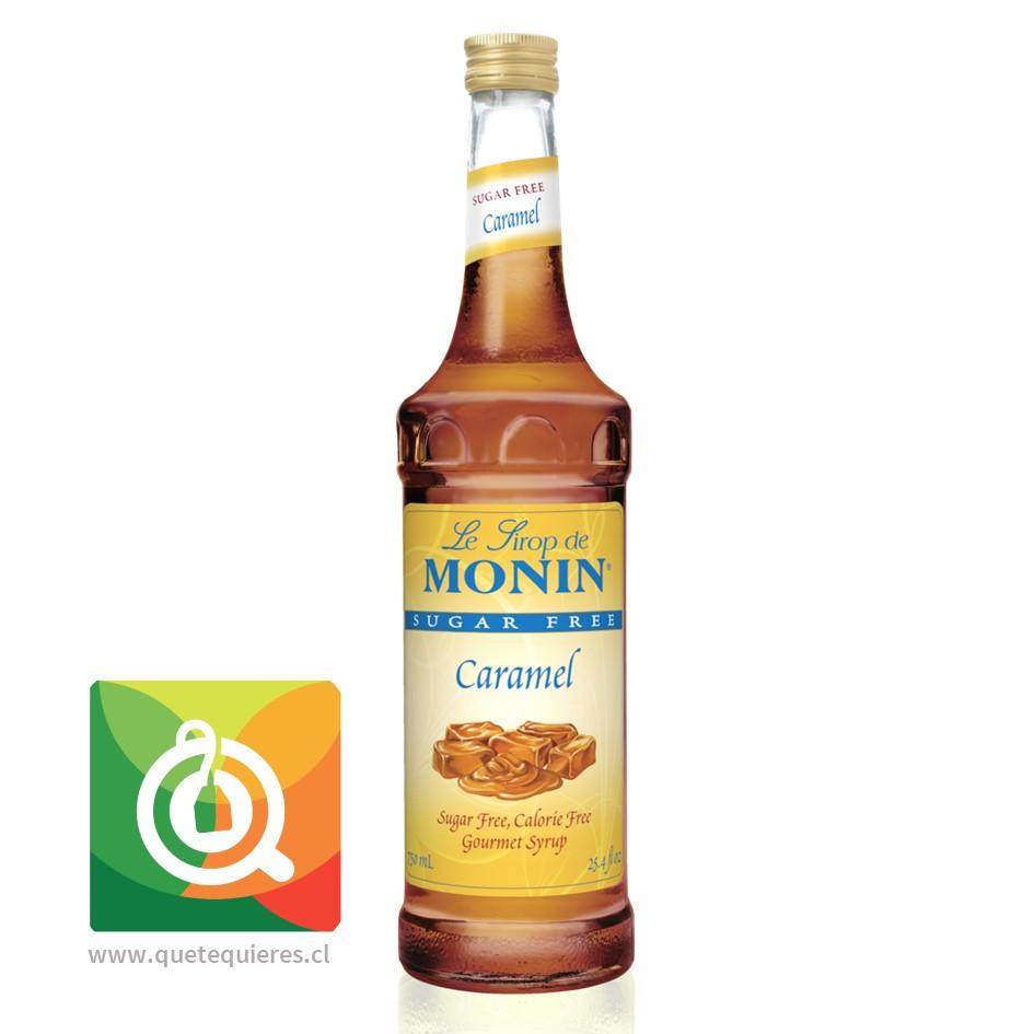 Monin Syrup Caramelo Sin Azúcar