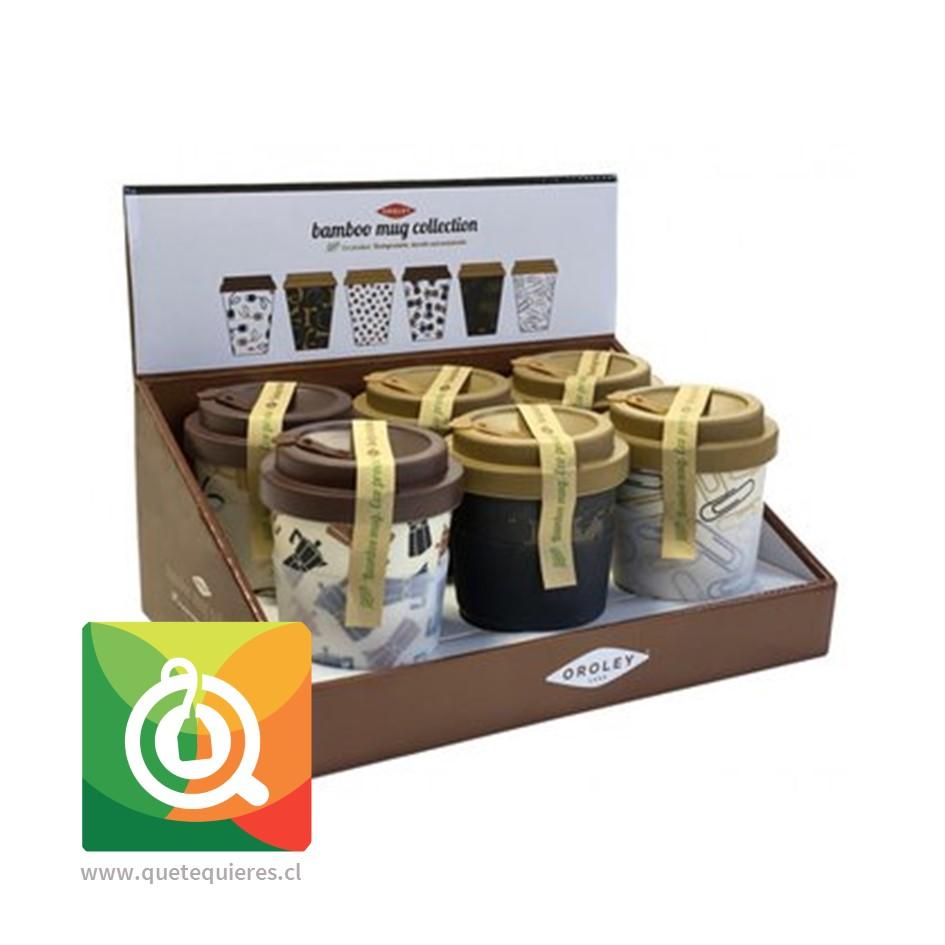 Pack Oroley Mug Bambú 6 unidades- Image 1