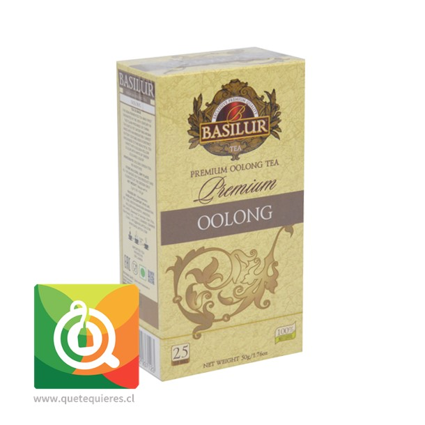 Basilur Té Verde Oolong Premium