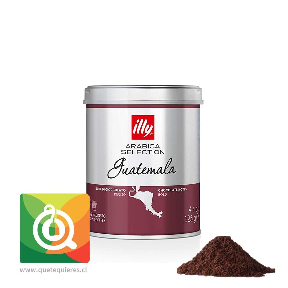 Illy Café Monoarabico Molido Guatemala Lata 125 gr