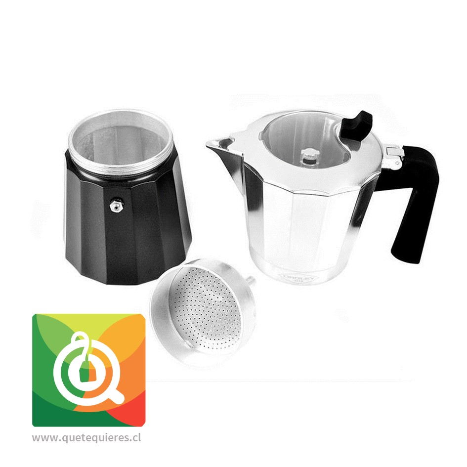 Oroley Cafetera Italiana Induccion para 6 y 3 Tazas - Image 2