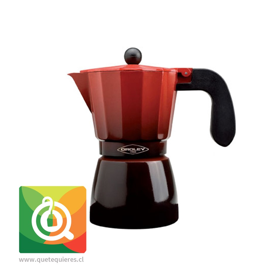 Oroley Cafetera Italiana Induccion Ecofund para 6 y 3 Tazas - Image 1