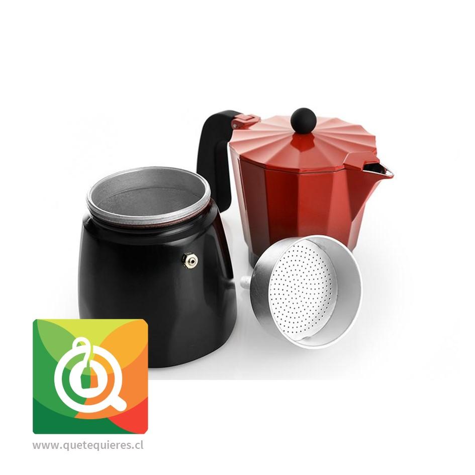 Oroley Cafetera Italiana Induccion Ecofund para 6 y 3 Tazas - Image 2