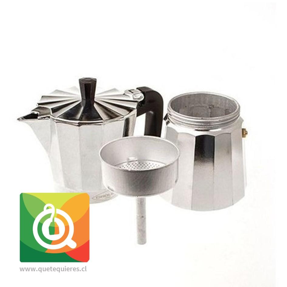 Oroley Cafetera Italiana New Vitro 9 Tazas - Image 2