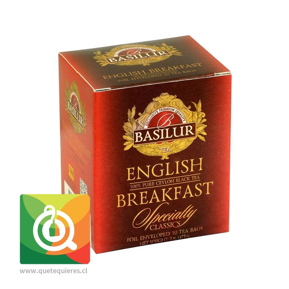 Basilur Té Negro English Breakfast 10 bolsitas