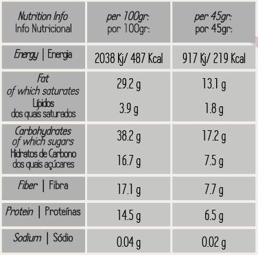 Granola de Figo e Noz Biológico 425gr