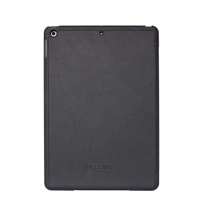 Funda de cuero Decoded Slim para iPad de 10,2