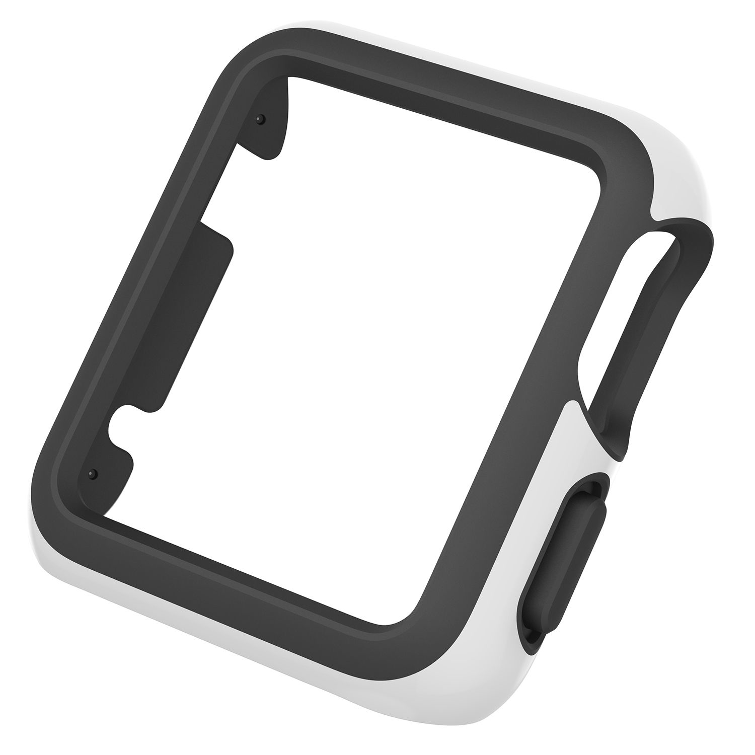 - Protector para Apple Watch 38mm CandyShell Speck white/black 1
