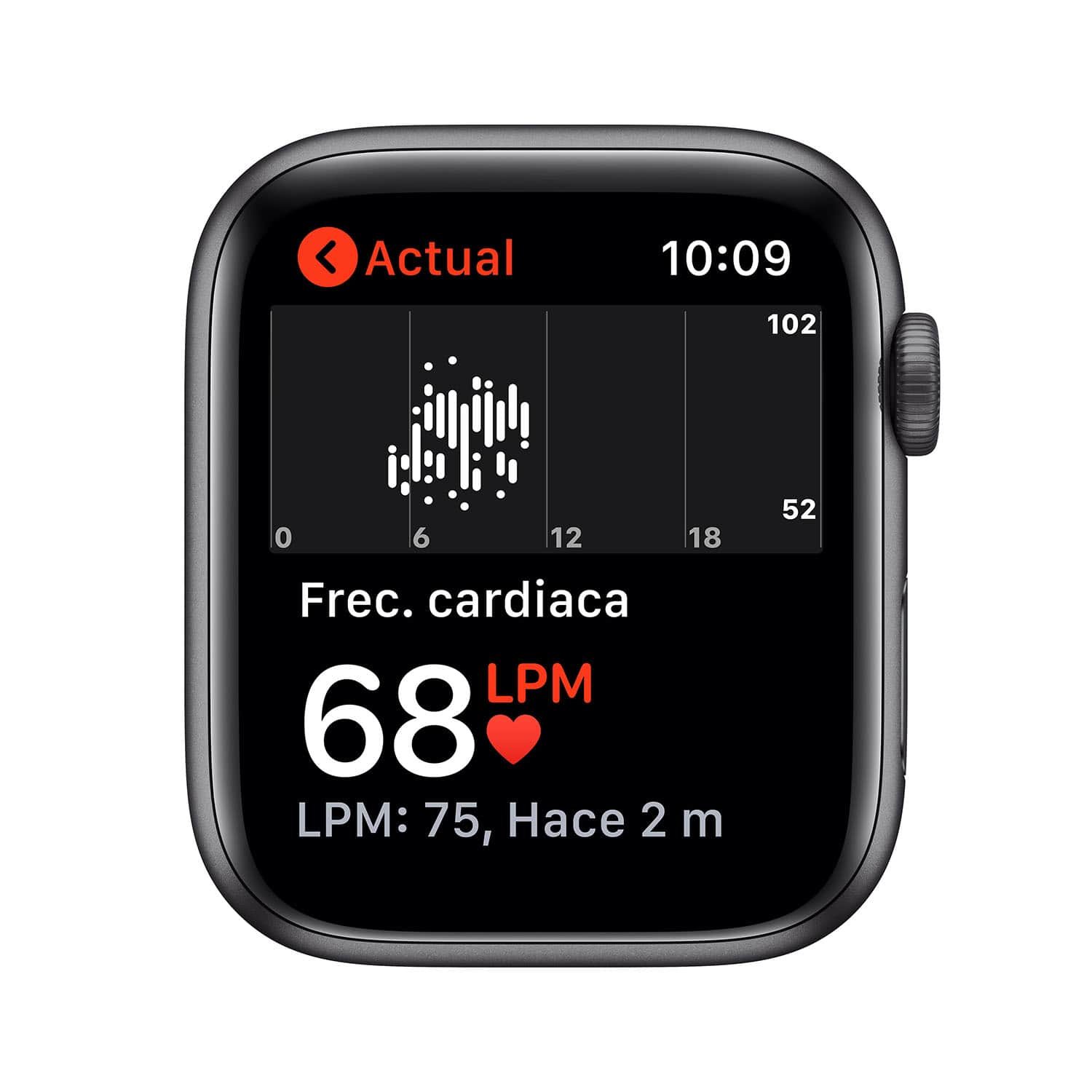 - Apple Watch SE GPS, 44mm Space Gray Aluminium Case with Black Sport Band 5
