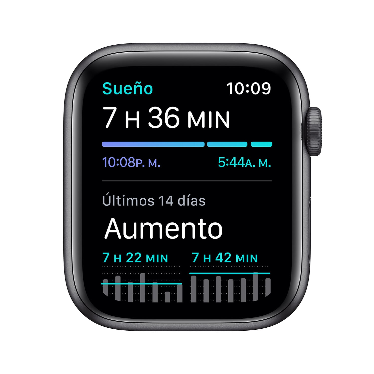 - Apple Watch SE GPS, 44mm Space Gray Aluminium Case with Black Sport Band 4