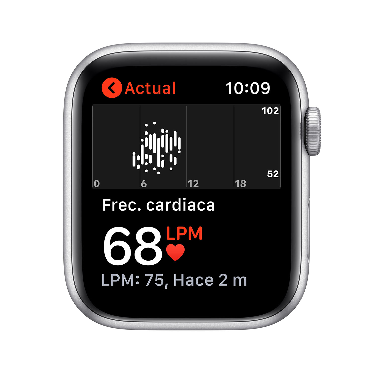 - Apple Watch SE GPS, 44mm Silver Aluminium Case with White Sport Band 4