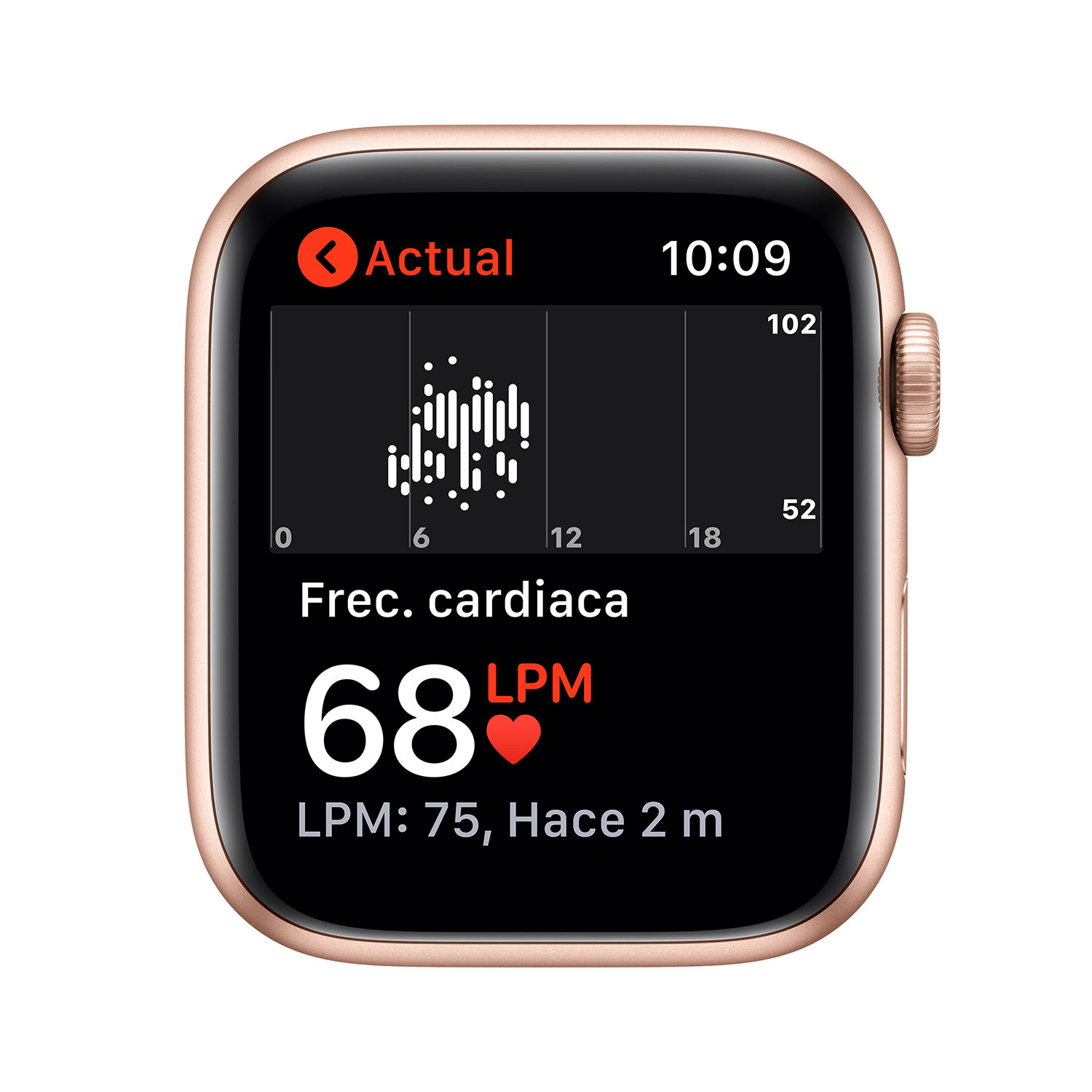 - Apple Watch SE GPS, 44mm Gold Aluminium Case with Pink Sand Sport Band 4