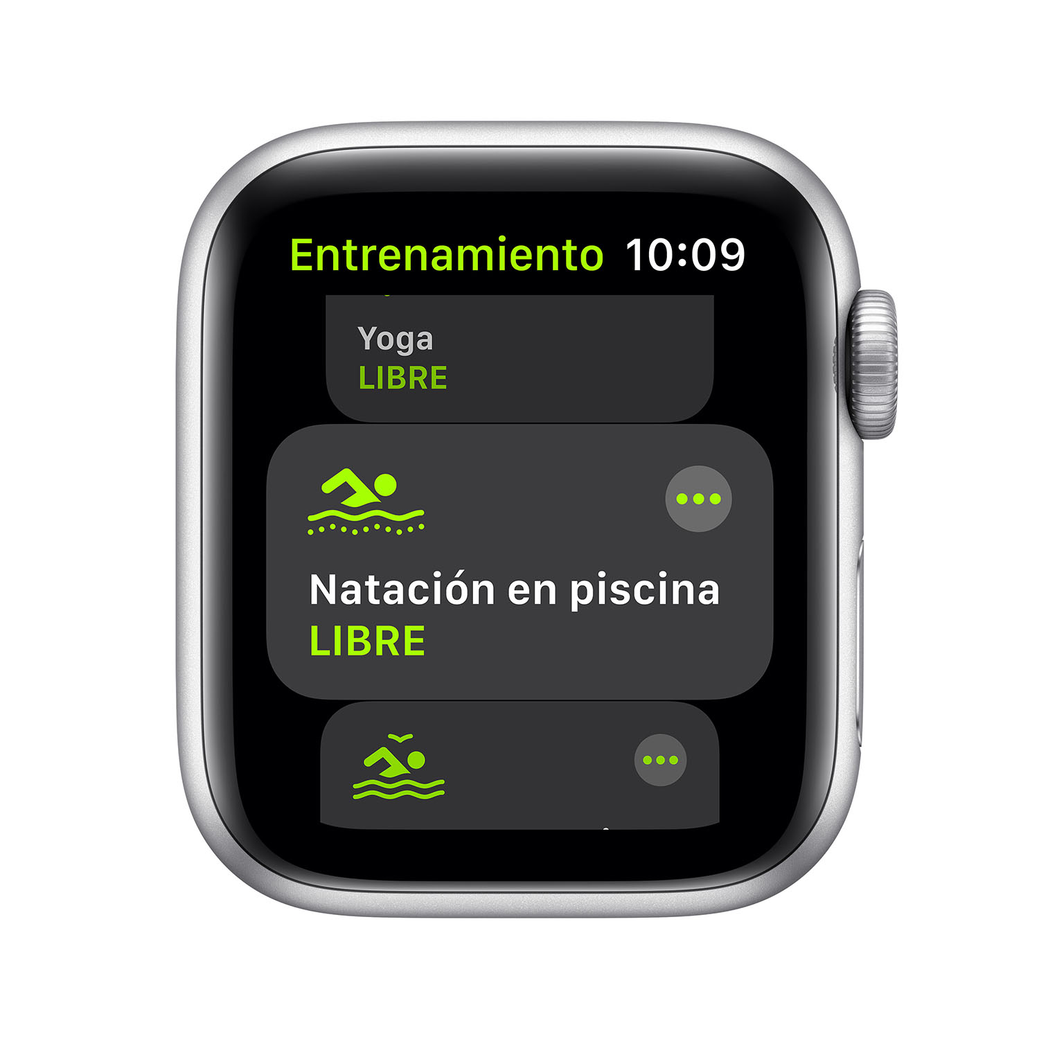 - Apple Watch SE GPS, 40mm Silver Aluminium Case with White Sport Band 3