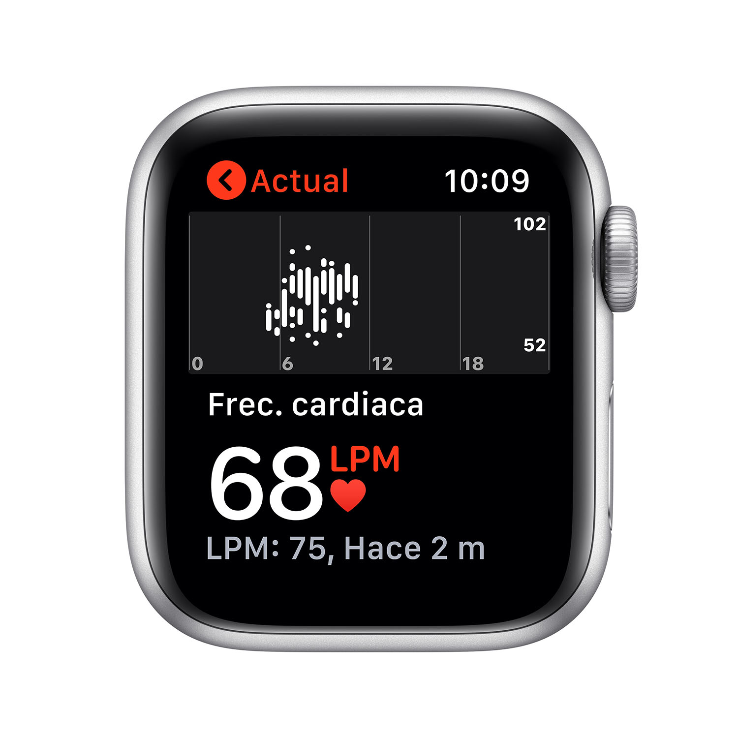 - Apple Watch SE GPS, 40mm Silver Aluminium Case with White Sport Band 4