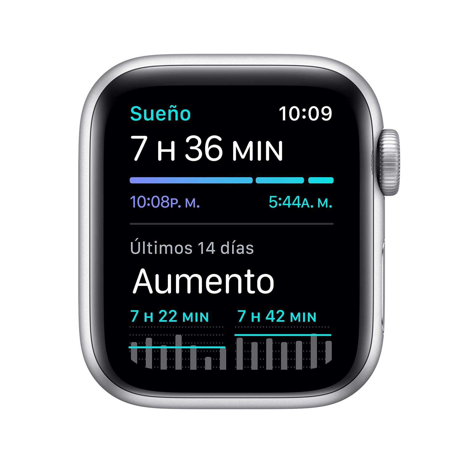 - Apple Watch SE GPS, 40mm Silver Aluminium Case with White Sport Band 5