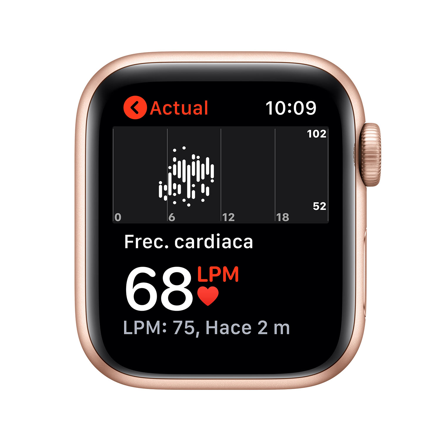 - Apple Watch SE GPS, 40mm Gold Aluminium Case with Pink Sand Sport Band 4
