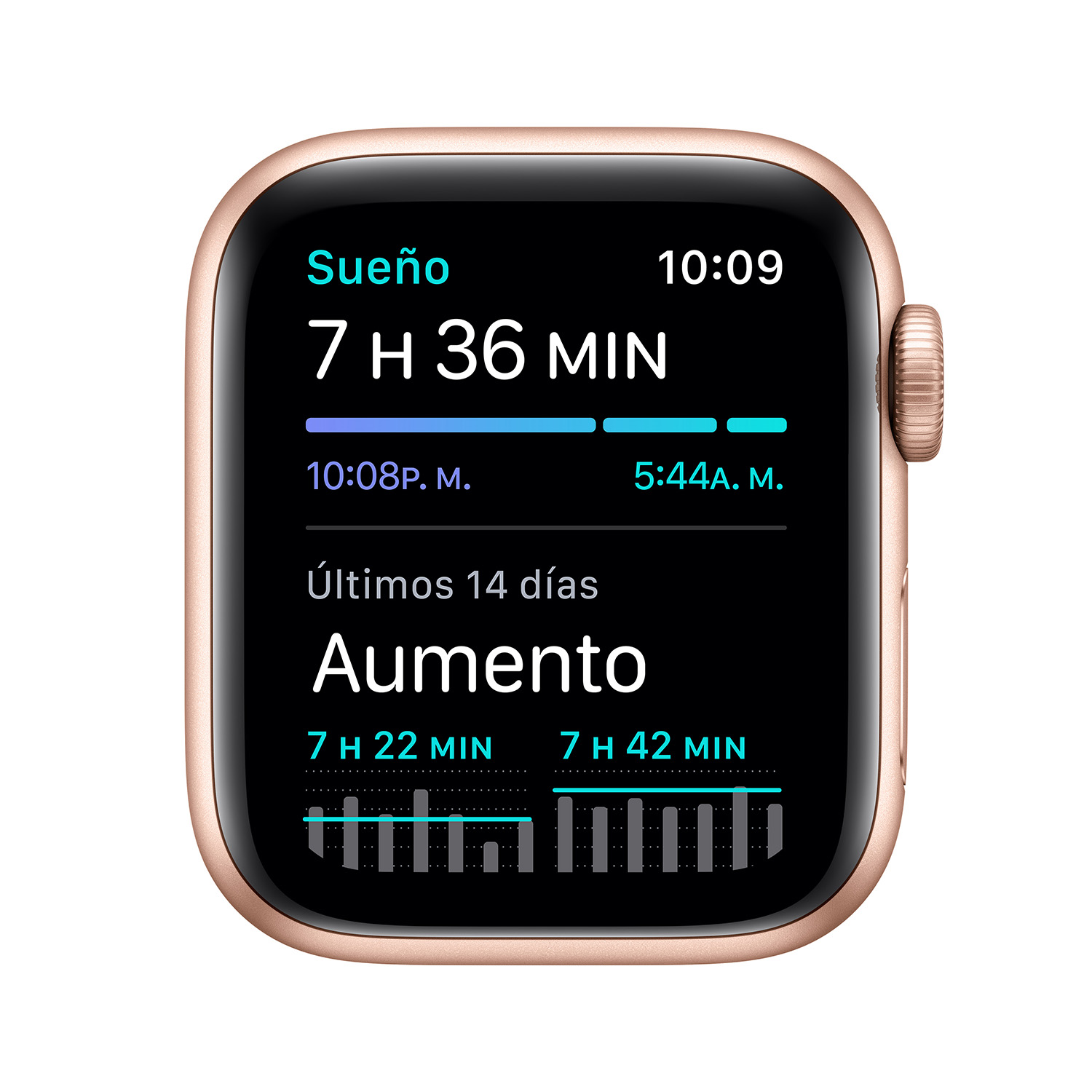 - Apple Watch SE GPS, 40mm Gold Aluminium Case with Pink Sand Sport Band 5