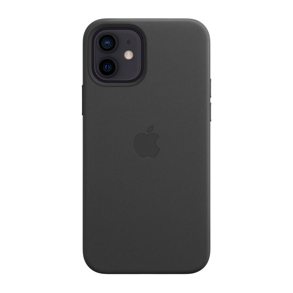 iPhone 12 | 12 Pro Leather Case with MagSafe / Negro