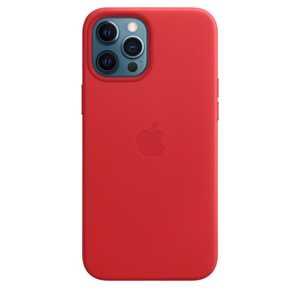 - iPhone 12 Pro Max Leather Case with MagSafe / Rojo 2