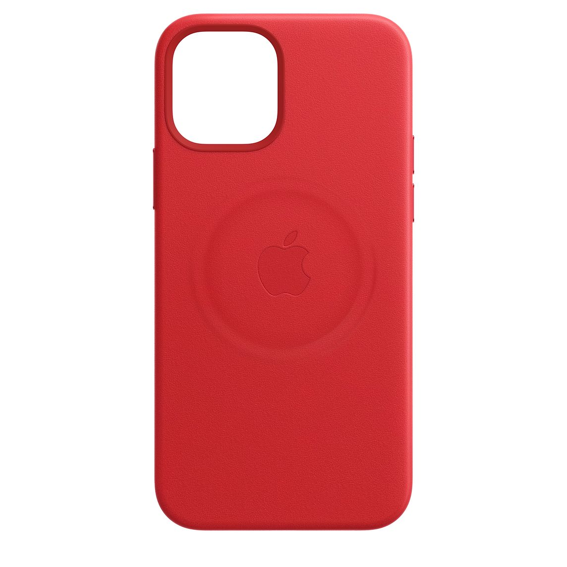 - iPhone 12 Pro Max Leather Case with MagSafe / Rojo 1