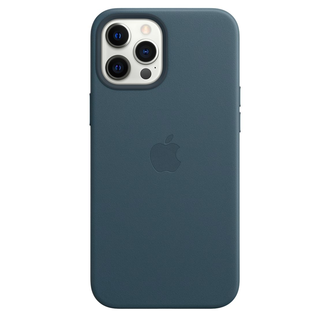 - iPhone 12 Pro Max Leather Case with MagSafe / Azul Báltico 3