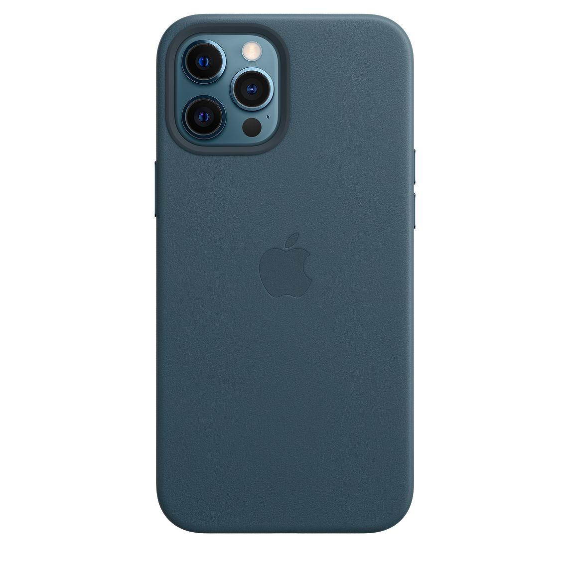 - iPhone 12 Pro Max Leather Case with MagSafe / Azul Báltico 2