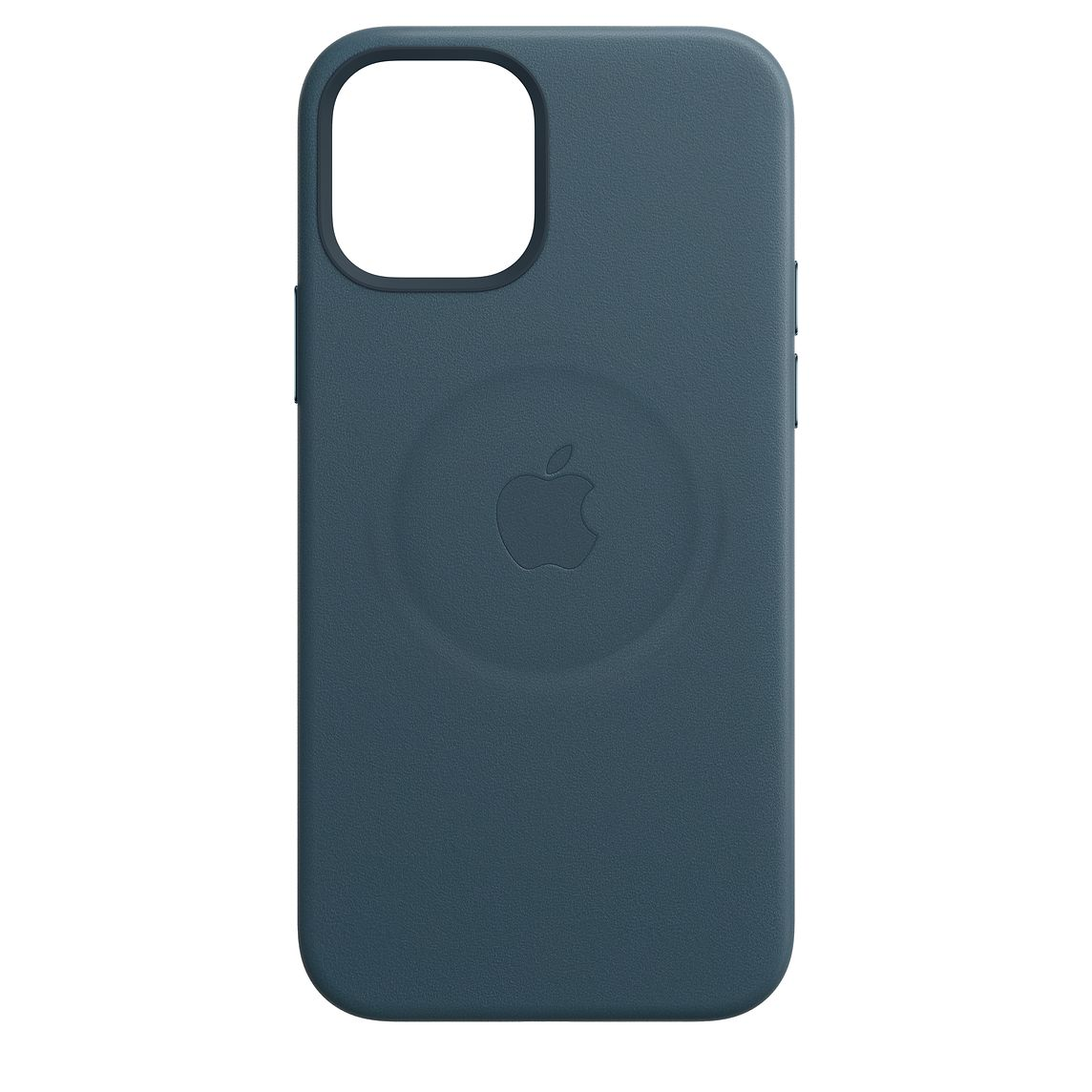 - iPhone 12 Pro Max Leather Case with MagSafe / Azul Báltico 1