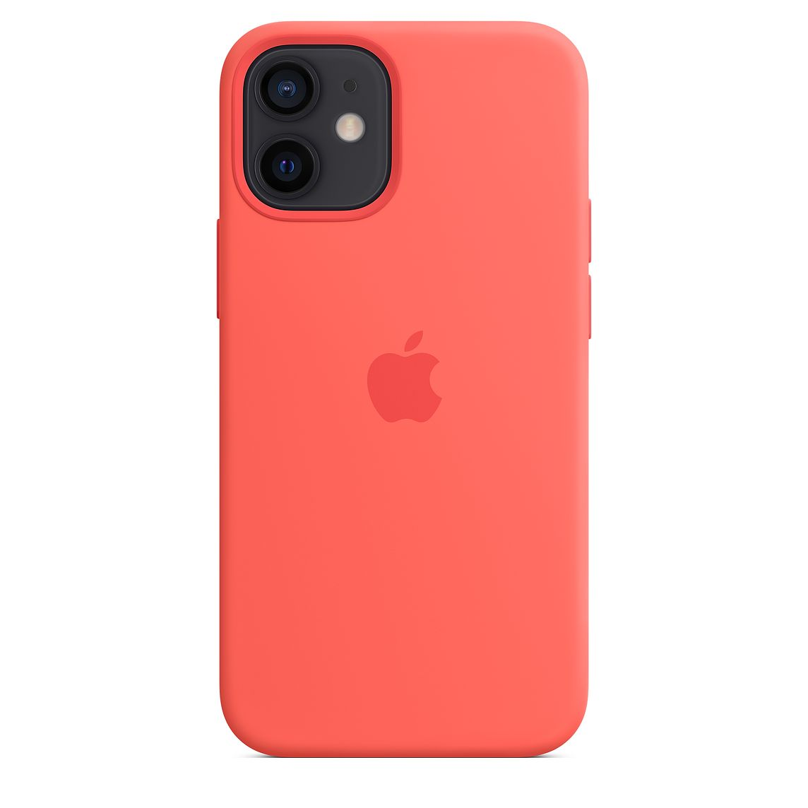 - iPhone 12 mini Silicone Case with MagSafe / Rosa Cítrico 2