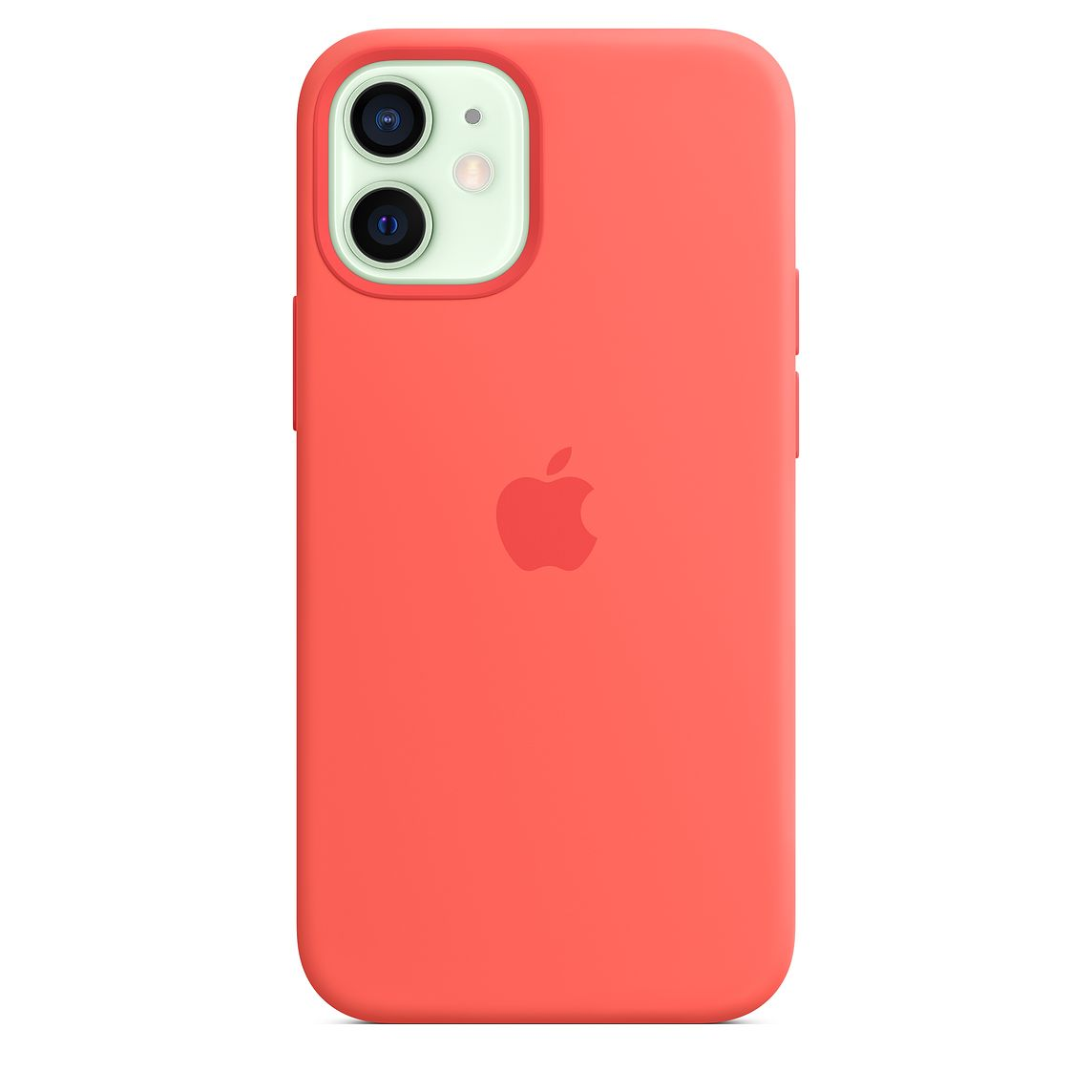 - iPhone 12 mini Silicone Case with MagSafe / Rosa Cítrico 5