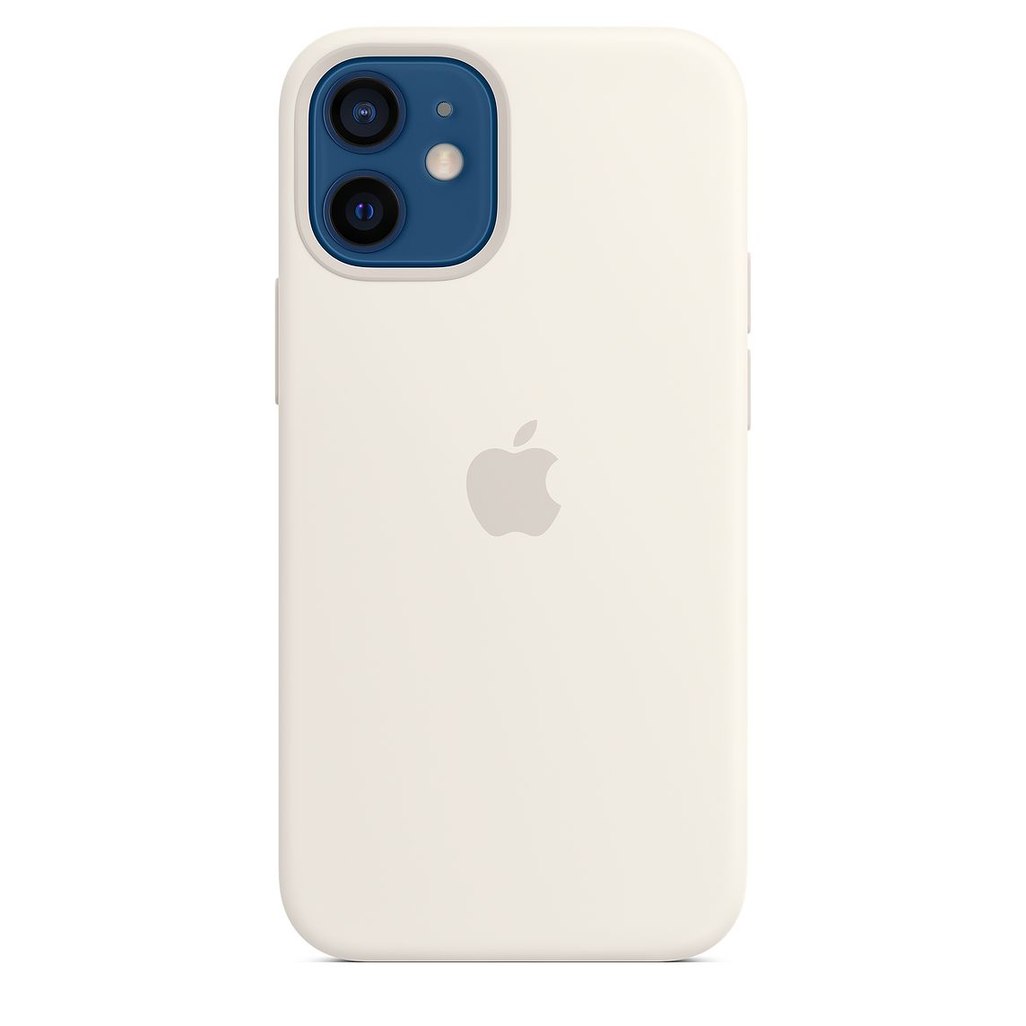 - iPhone 12 mini Silicone Case with MagSafe / Blanco 5