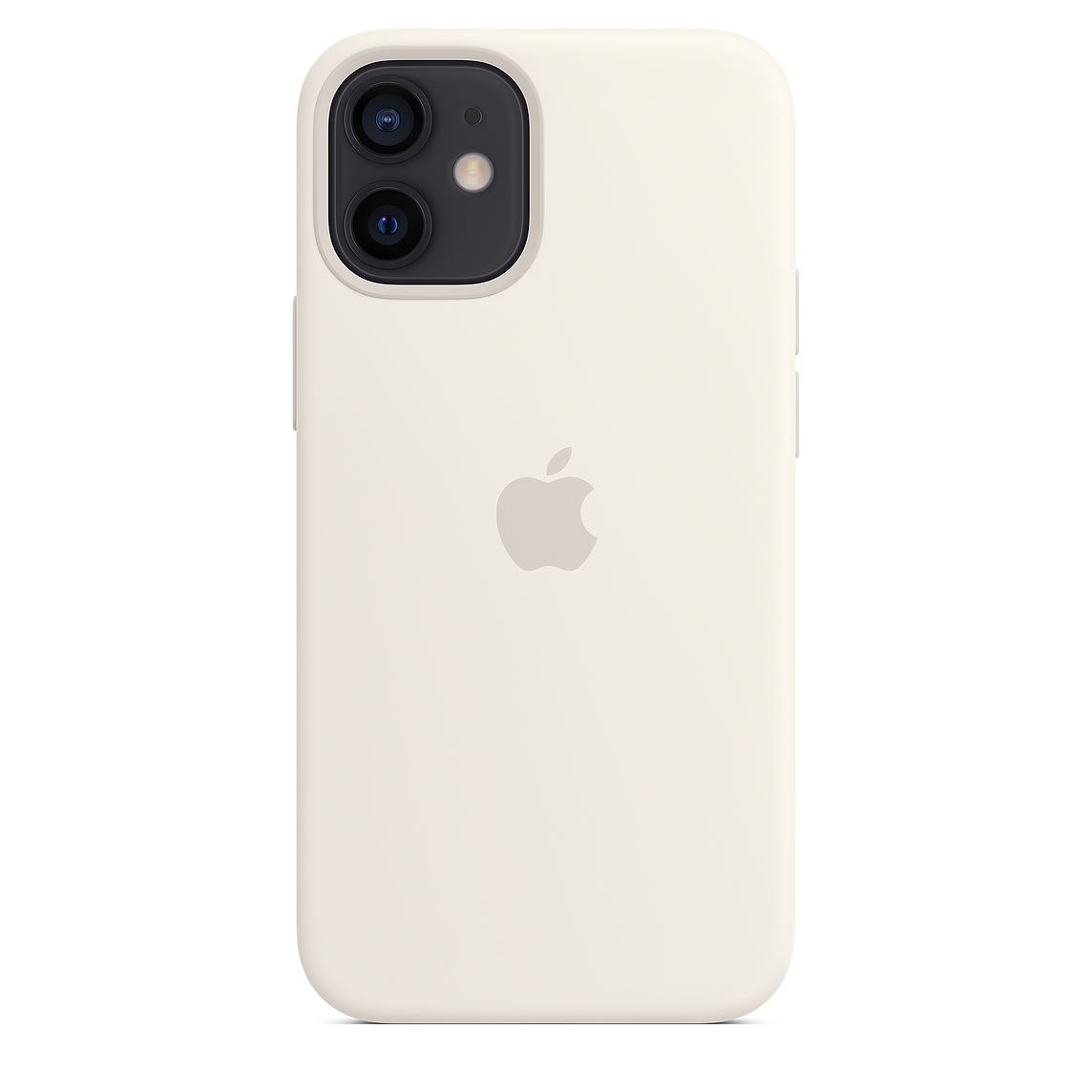 - iPhone 12 mini Silicone Case with MagSafe / Blanco 1