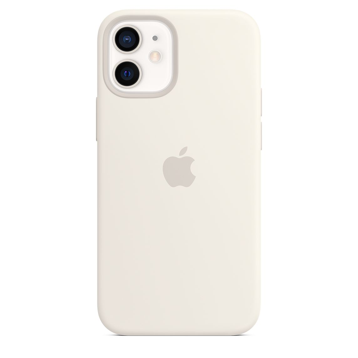 - iPhone 12 mini Silicone Case with MagSafe / Blanco 2
