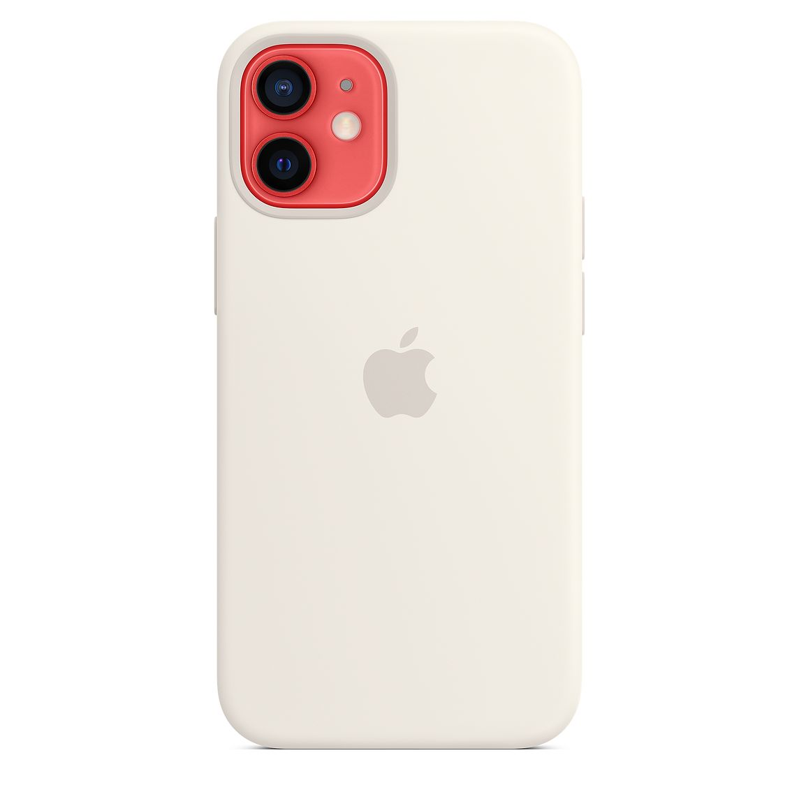 - iPhone 12 mini Silicone Case with MagSafe / Blanco 3