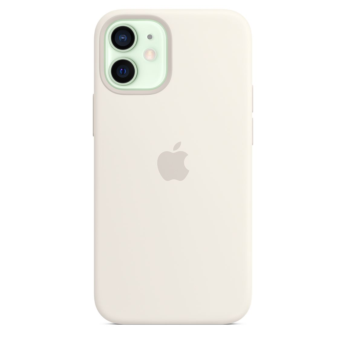 - iPhone 12 mini Silicone Case with MagSafe / Blanco 4