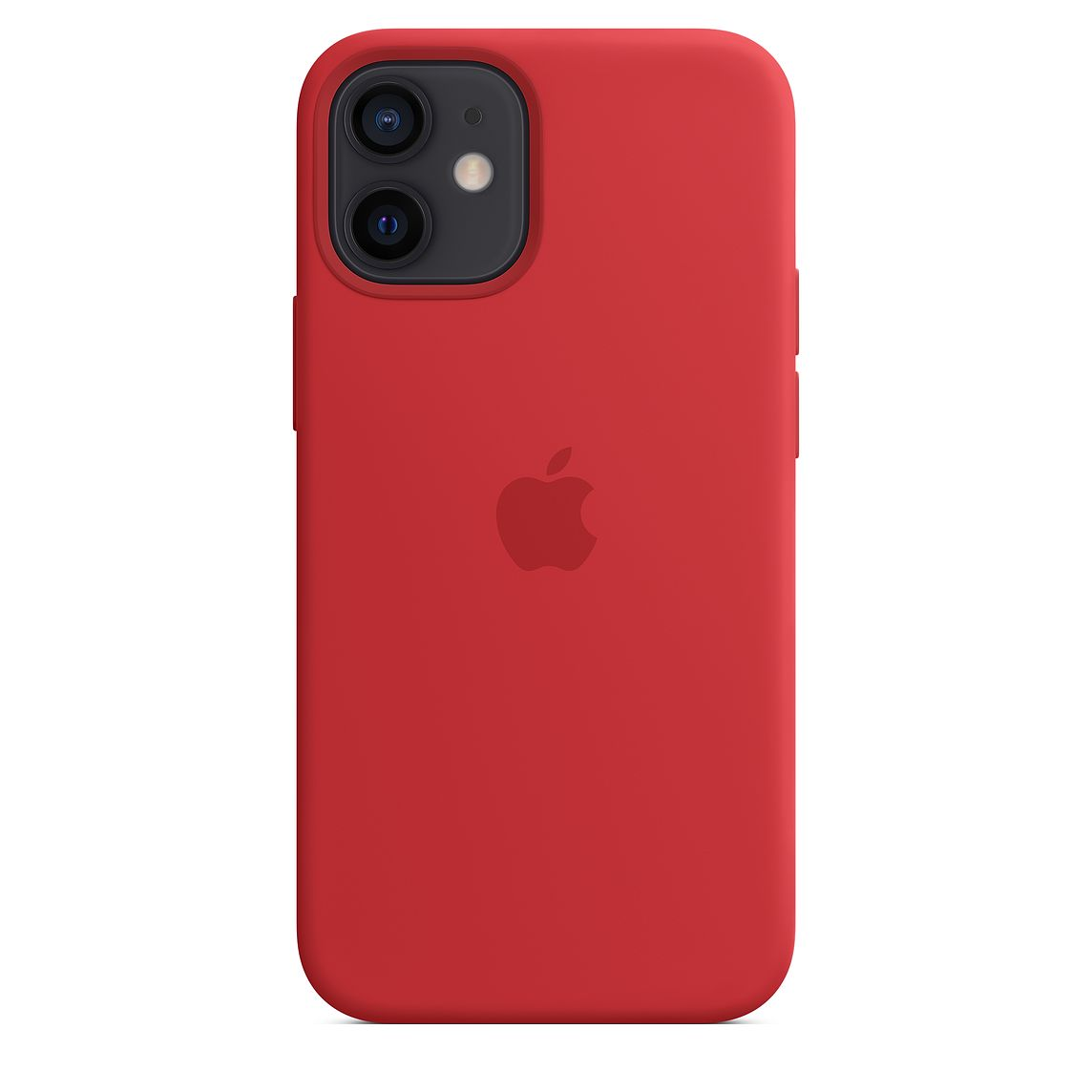 - iPhone 12 mini Silicone Case with MagSafe / Rojo 1