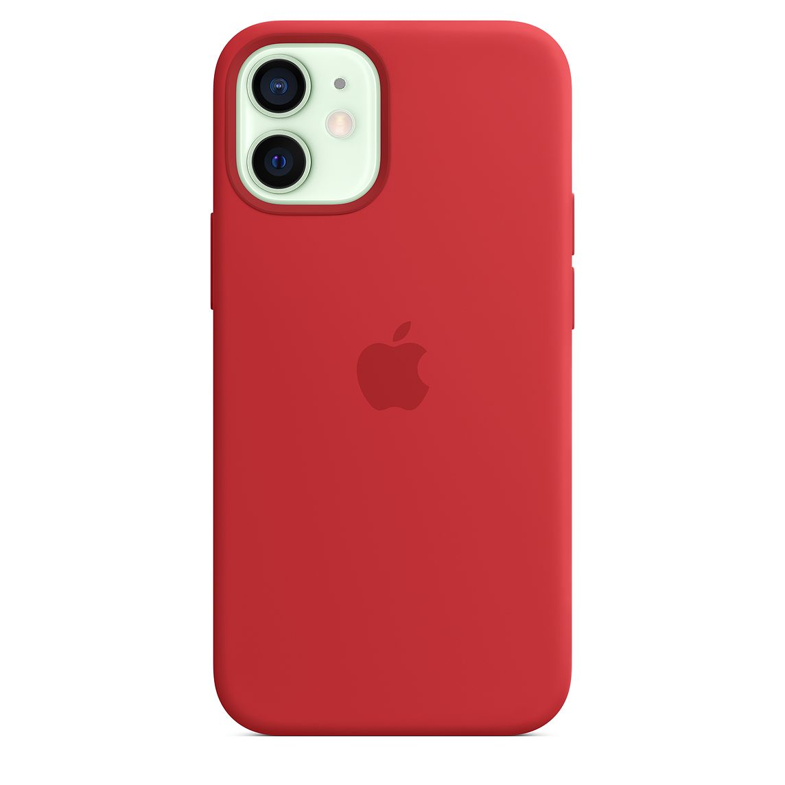 - iPhone 12 mini Silicone Case with MagSafe / Rojo 4