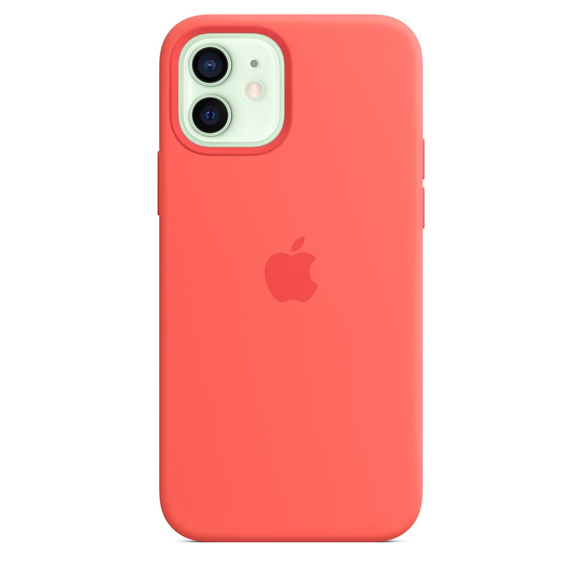 - iPhone 12 | 12 Pro Silicone Case with MagSafe / Rosa Cítrico 2