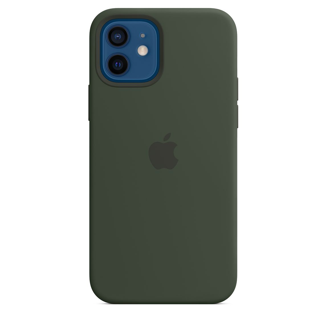 - iPhone 12 | 12 Pro Silicone Case with MagSafe / Verde Chipre 1